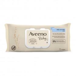 Aveeno Baby Wipes - 72 Pack