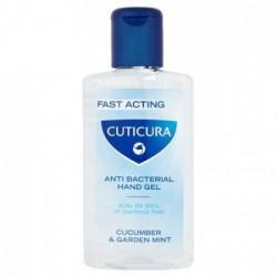 Cuticura AntiBacterial Hand Gel Cucumber & Garden Mint 50ml
