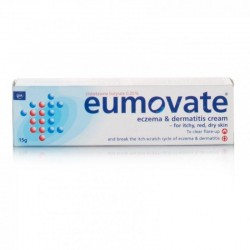 EUMOVATE Eczema & Dermatitis Cream - 15g