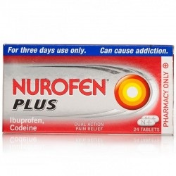 NUROFEN Plus - 24 Tablets *Please note - we can only dispatch 1 codeine item per order*