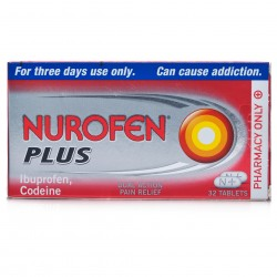 NUROFEN Plus - 32 Tablets *Please note orders can only contain a maximum of one codeine product*