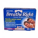 BREATHE RIGHT Nasal Strips Large - 10 Strips