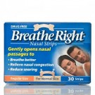 BREATHE RIGHT Nasal Strips Small/Medium - 30 Strips