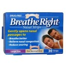 BREATHE RIGHT Nasal Strips Large - 30 Strips