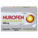 NUROFEN MELTLETS 200mg tablets - 12 pack