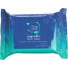 Clean & Clear Deep Action Facial Wipes 25 Pack