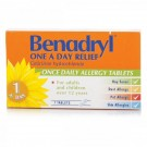 BENADRYL One-A-Day Relief - 7 Tablets