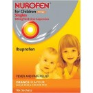 NUROFEN FOR CHILDREN Singles Orange 100mg/5ml -16 pack