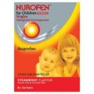 NUROFEN FOR CHILDREN Singles Strawberry 100mg/5ml -8 pack