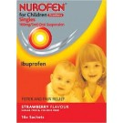 NUROFEN FOR CHILDREN Singles Strawberry 100mg/5ml -16 pack