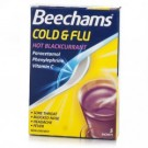 BEECHAMS Cold & Flu Hot Blackcurrant - 5 sachets