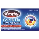 BENYLIN DAY & NIGHT Cold & Flu Capsules -16 pack