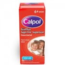 CALPOL SIX PLUS suspension sugar-free 250mg/5ml -80ml