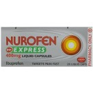NUROFEN EXPRESS Liquid capsules 400mg - 20 pack