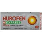 NUROFEN EXPRESS Liquid capsules 400mg - 20 pack