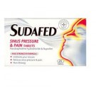 SUDAFED Sinus Pressure & Pain - 24 Tablets