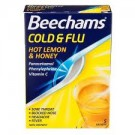 BEECHAMS Cold & Flu Hot Lemon & Honey - 5 Sachets