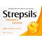 STREPSILS Honey & Lemon - 24 Lozenges