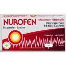 NUROFEN Migrane Pain Max Strength 684mg -12 Caplets