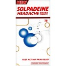 SOLPADEINE Headache - 16 Soluble Tablets *Please note - we can only dispatch 1 codeine item per order*