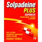 SOLPADEINE PLUS -16 Capsule Pack *Please note - we can only dispatch 1 codeine item per order*