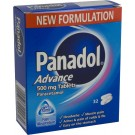 PANADOL ADVANCE 500mg - 32 Tablets