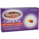 BENYLIN Cold & Flu Max strength Capsules -16 pack