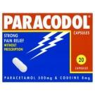 PARACODOL Capsules - 20 Pack