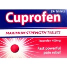 CUPROFEN Maximum Strenght 400mg - 24 Tablets