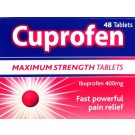CUPROFEN Maximum Strenght 400mg  - 48 Tablets