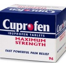 CUPROFEN Maximum Strenght 400mg - 96 Tablets