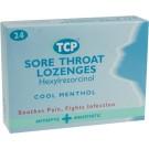 TCP Cool Menthol Lozenges - 24 Pack