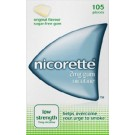 NICORETTE Original Chewing Gum 2mg - 105 Pieces
