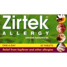 ZIRTEK Allergy - 30 Tablets