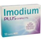 IMODIUM PLUS - 12 Caplets