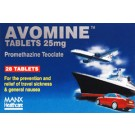 AVOMINE 25mg - 28 Tablets