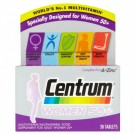 Centrum 50+ Womens 30 Tablets