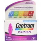 Centrum Women Multivitamins 30 Tablets