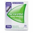 NICORETTE Inhalator Refill Black 15mg - 20 Pack