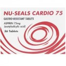 NU-SEALS Cardio 75 (Aspirin)  - 56 Tablets