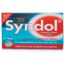 SYNDOL - 30 Tablets *Please note - we can only dispatch 1 codeine item per order*
