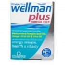 WELLMAN Plus Omega - 50 Tablets